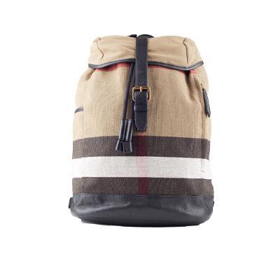 vintage canvas backpack brown